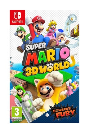 Nintendo Super Mario 3D World + Bowser's Fury Switch Oyun