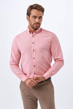 Hemington Pembe Oxford Spor Gömlek