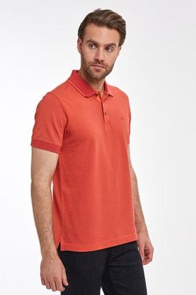 Hemington Erkek Kırmızı Pike Örgü Polo Yaka T-shirt