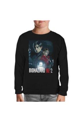 Lord T-Shirt Resident Evil - Biohazard Siyah Çocuk Sweatshirt