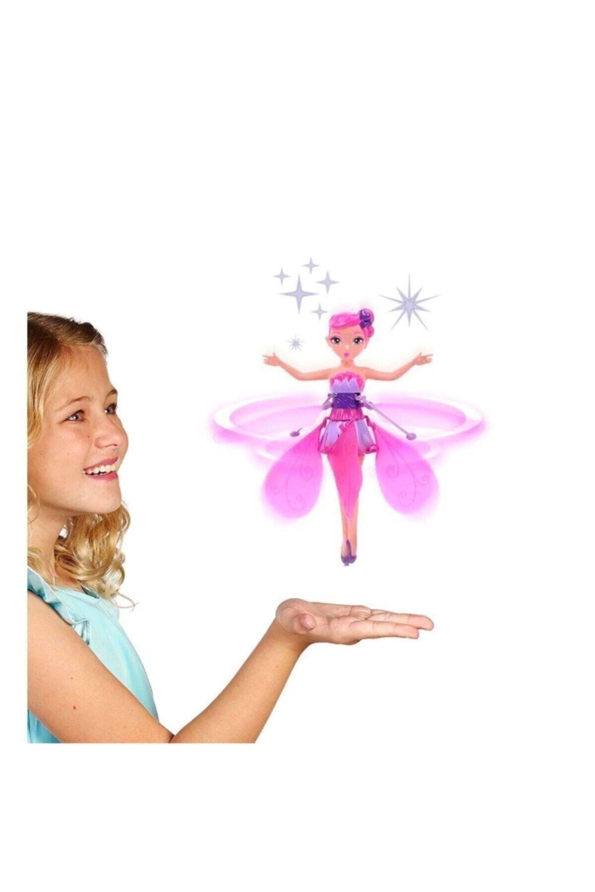 DEDE Uçan Peri Oyuncağı - Şarjlı, Hareket Sensörlü - Sihirli Flying Fairy, Pembe 1