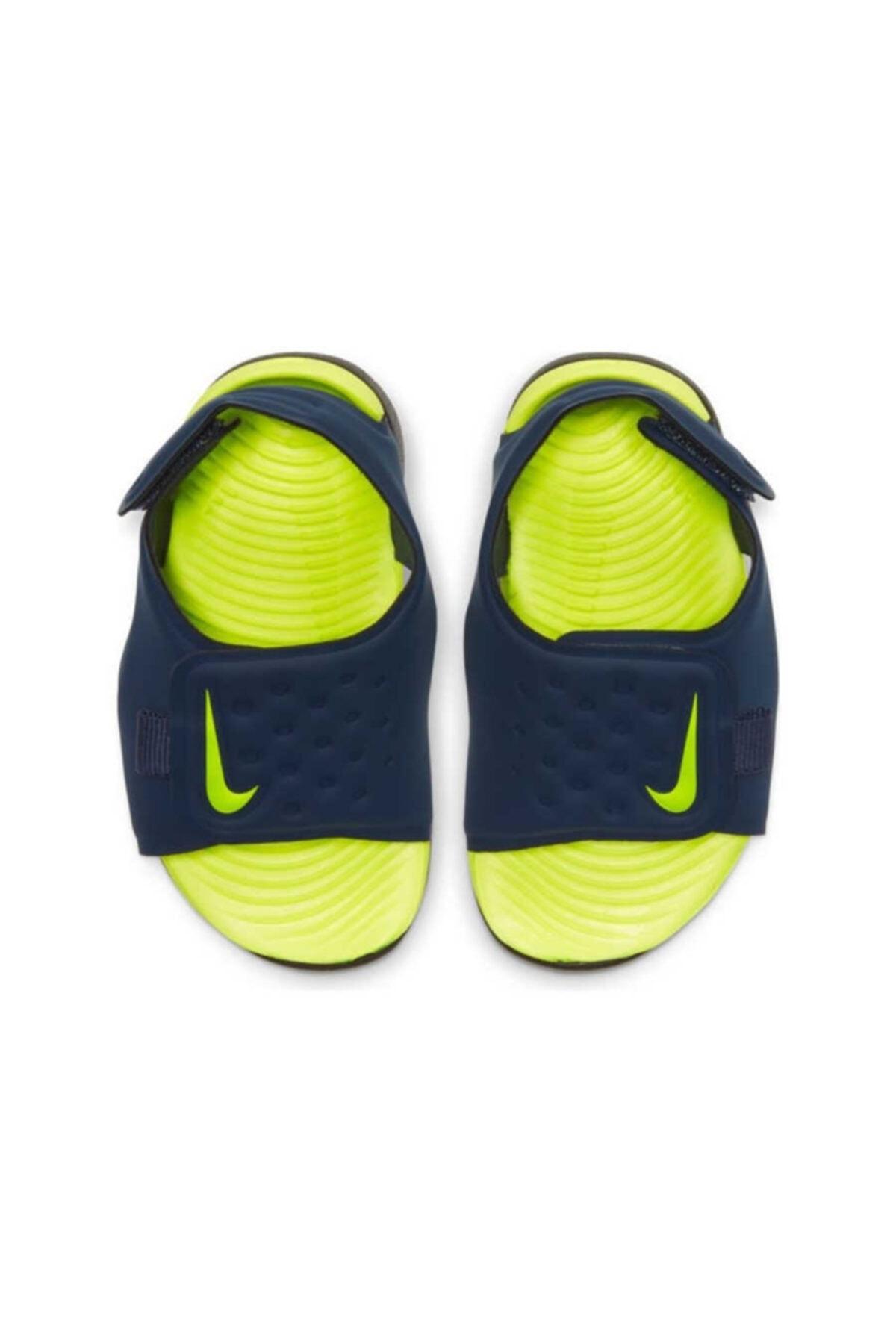 Nike Lacivert Aj9077-401 Sunray Adjust 5 Çocuk Sandalet Aj9077-401 2