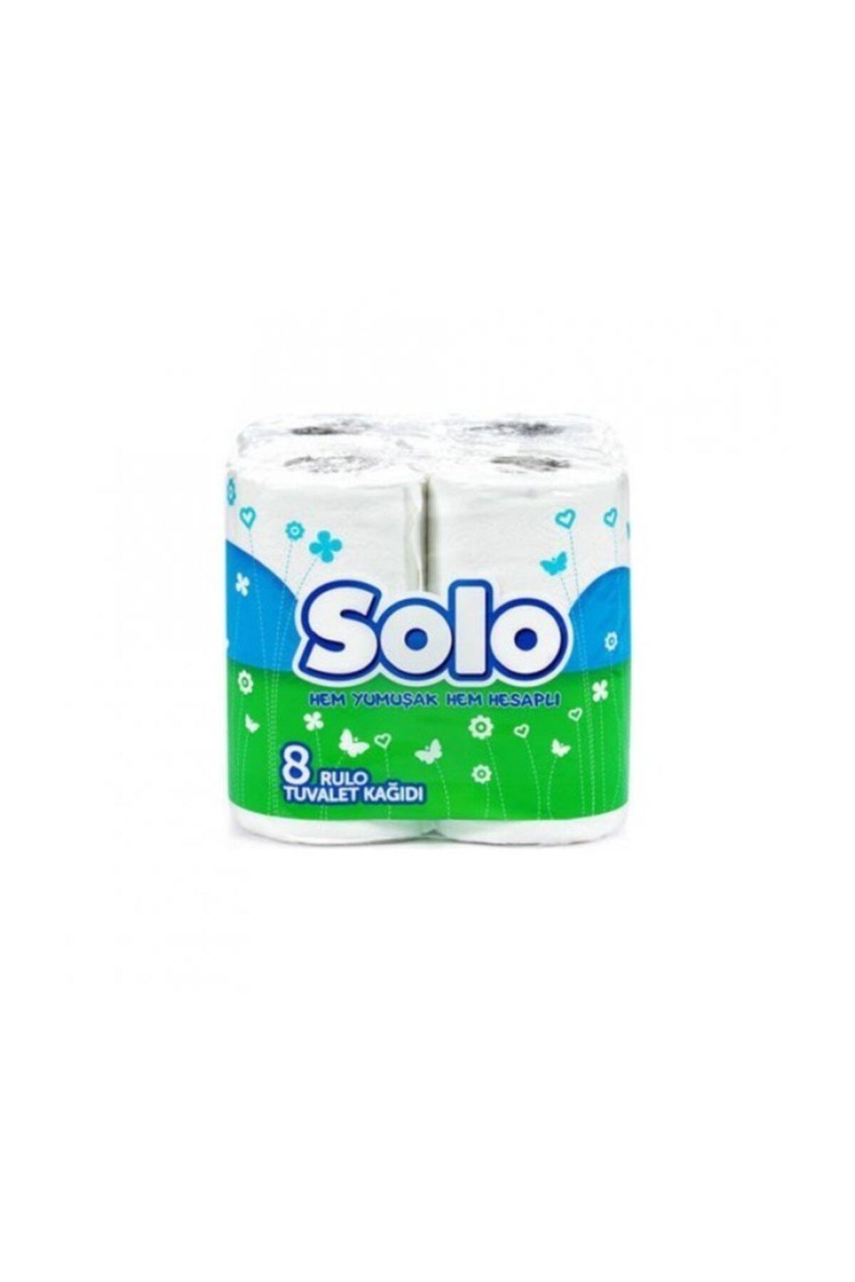 Solo Tuvalet Kağıdı 8 Li Rulo 1