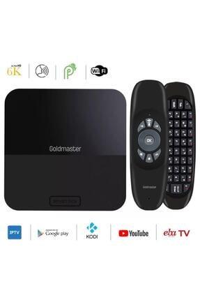 GOLDMASTER Netta 2 Pro 6k Android 9.0 Dream Tv Box Netflix Eba Tv