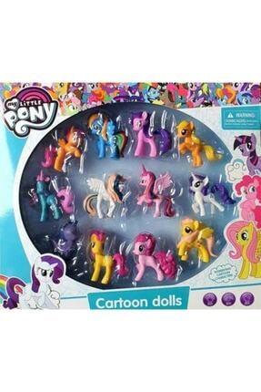 MY LITTLE PONY Pony Oyuncak 12 Li Set