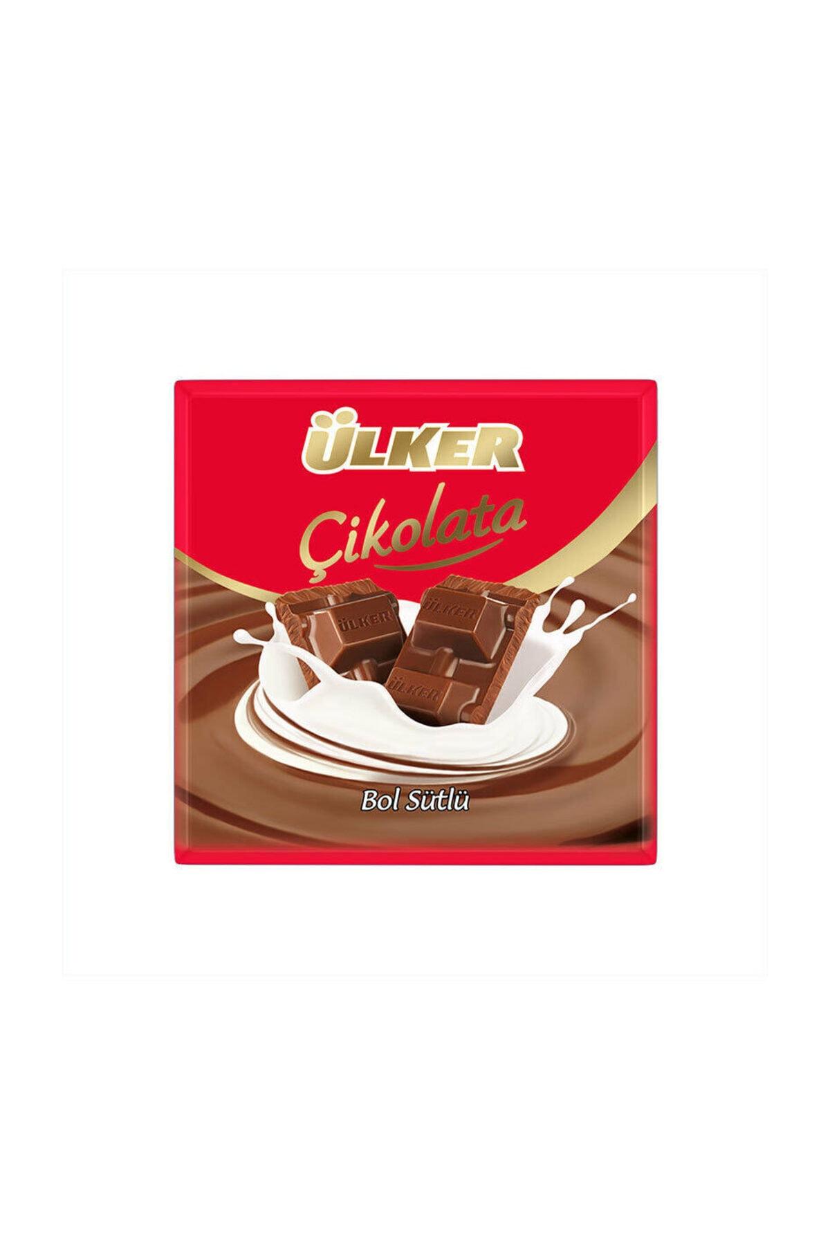 Ülker Sütlü Kare Çikolata 70 gr 1