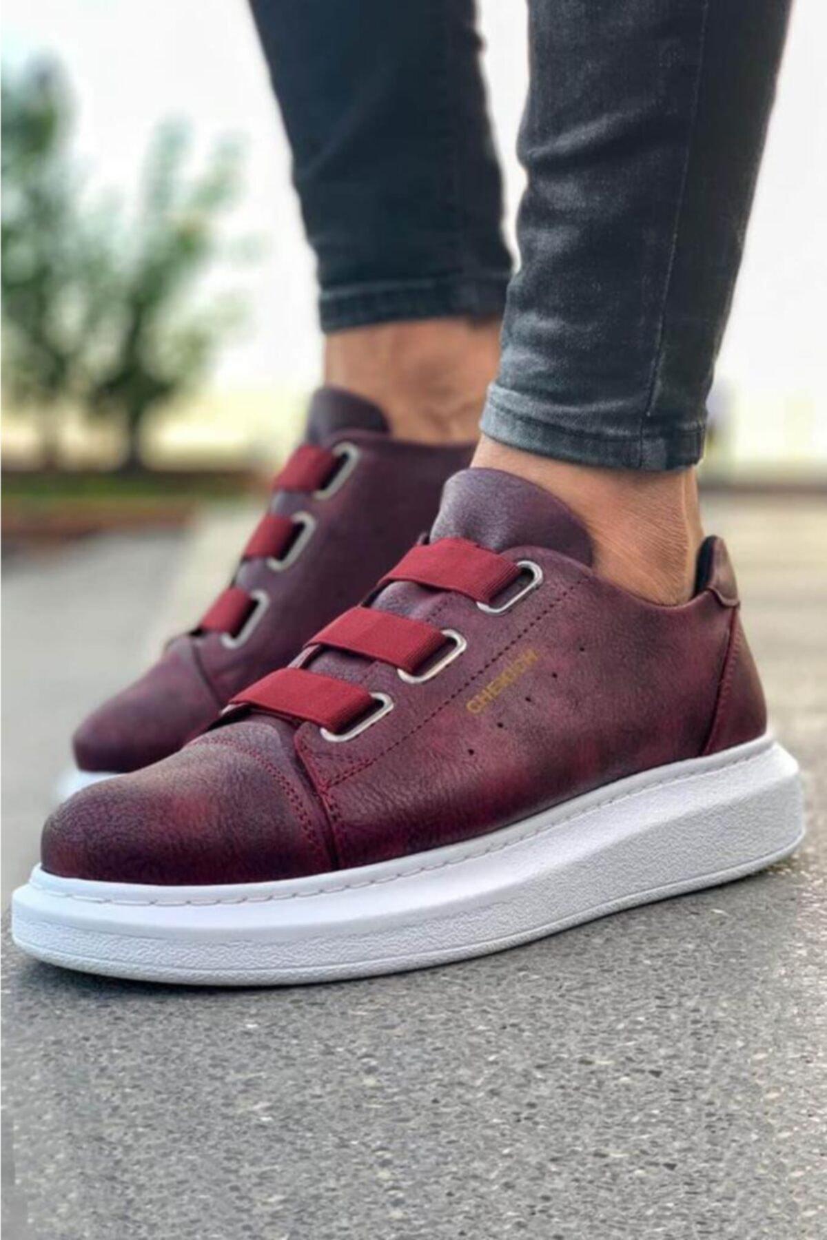 Chekich Ch Ch253 Bt Erkek Ayakkabı Bordo 1