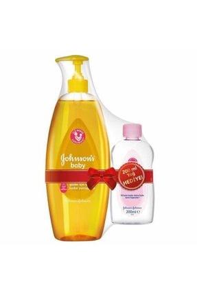 Johnson´s Baby Gold Bebek Şampuanı 750 ml + 200 ml Yağı Hediye