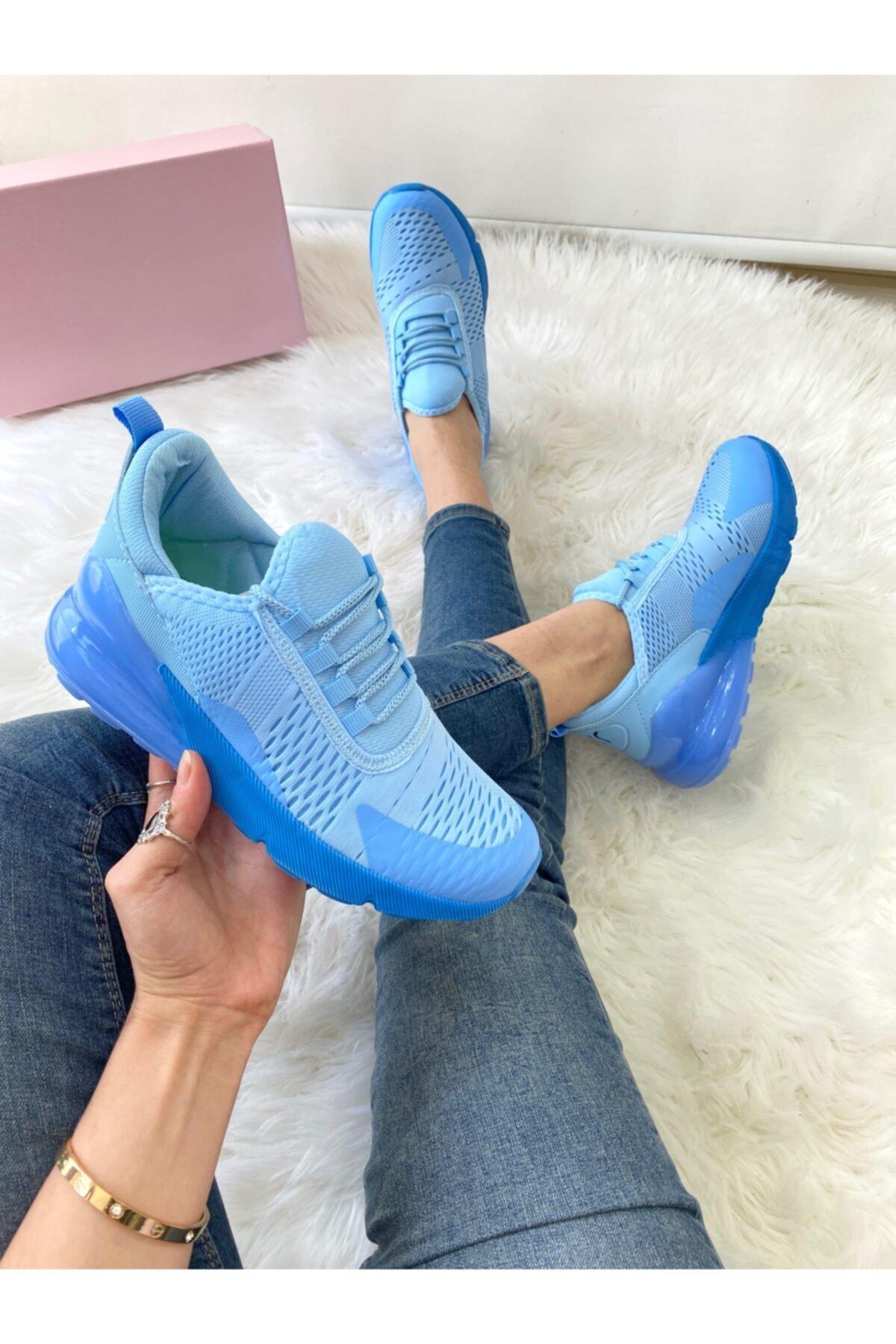 ELSESHOES Kadın Mavı Spor Ayakkabı 2