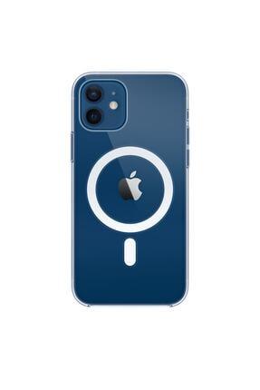 Enz Aksesuar Iphone 12 Için Magsafe Özellikli Şeffaf Kılıf