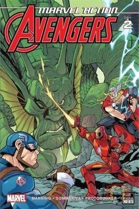 Marmara Çizgi Yayınları Marvel Action Avengers 2