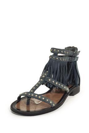 Nursace Kadın  Hakiki Deri Sandalet Nsc16y-a08237