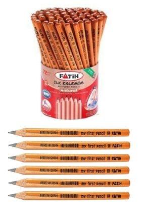 Fatih Ilk Kalemim Jumbo Üçgen Başlangıç Kalemi Natural 6 Adet