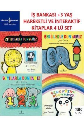 İş Bankası Kültür Yayınları Iş Bankası +3 Yaş Üzeri Hareketli Ve Interaktif Ciltli Kitaplar 4 Kitap Set