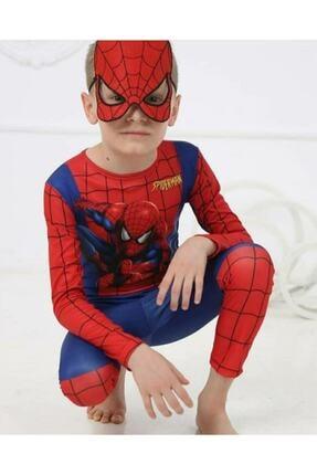 tafitech Örümcek Adam Kostumu Spiderman Örümcekadam Maskeli