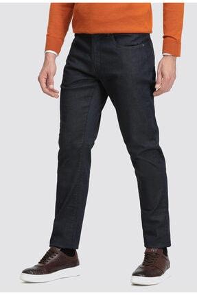 D'S Damat Erkek Lacivert Düz Denim Pantolon