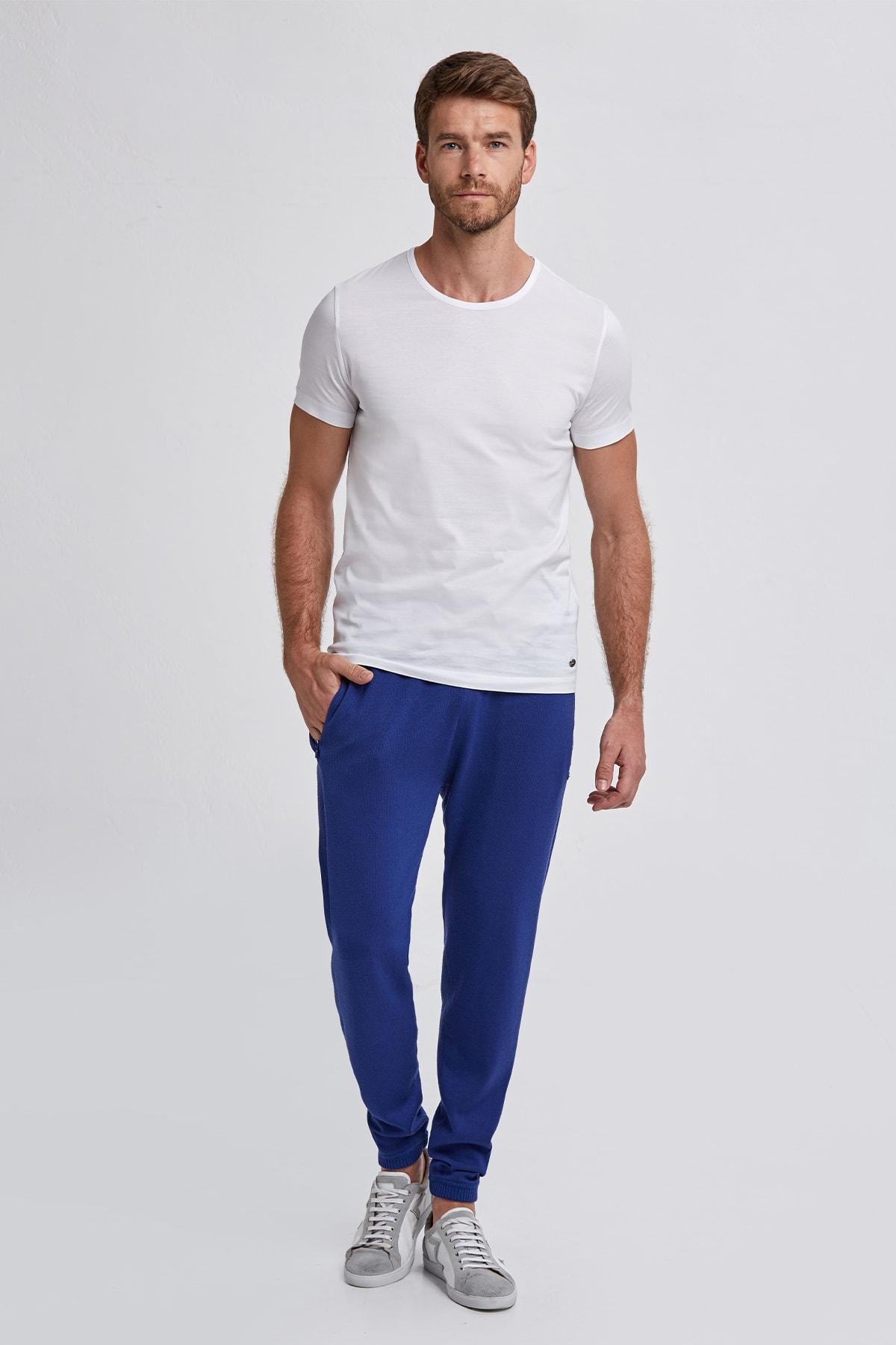 Hemington Beyaz Bisiklet Yaka Basic T-shirt 2