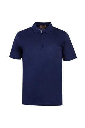 Kiğılı Polo Yaka Fermuarlı Regular Fit Tişört