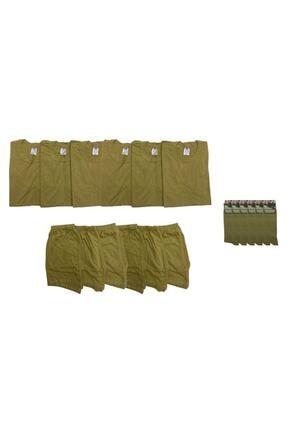 özmertaskerimalzeme Askeri Çamaşır Fanila Don Çorap 6lı Takım Yeni Tip