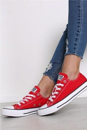 converse All Star Chuck Taylor Low Kırmızı Spor Ayakkabı M9696c V3