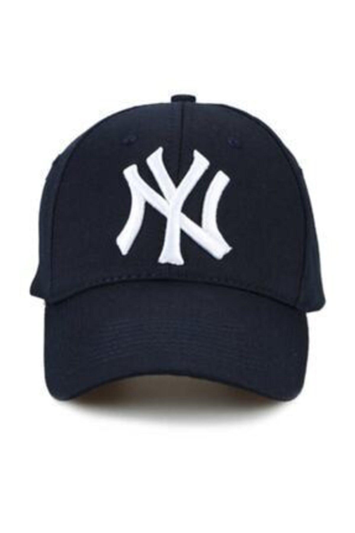 KOGLU Unisex Lacivert Ny New York Yankees Şapka 1