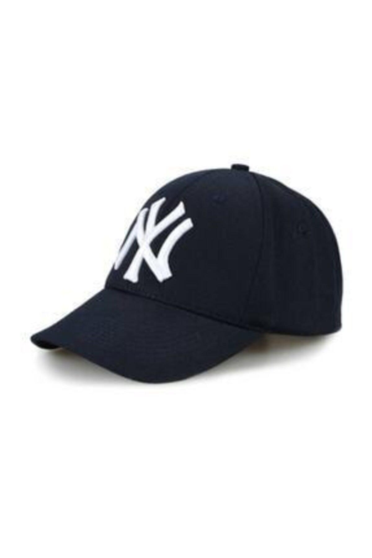 KOGLU Unisex Lacivert Ny New York Yankees Şapka 2