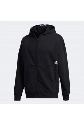 adidas Erkek Giyim Fermurlı Kapüşonlu Sweatshirt M Mhs Wrd Fzswt Ge0384
