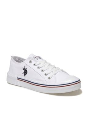 U.S. Polo Assn. Kadın Beyaz Havuz Taban Sneaker Penelope 1fx
