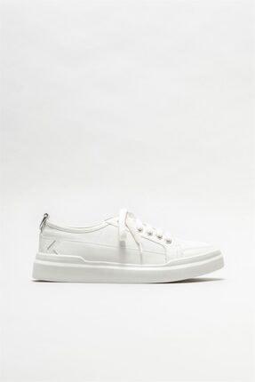Elle Shoes Beyaz Kadın Spor Ayakkabı