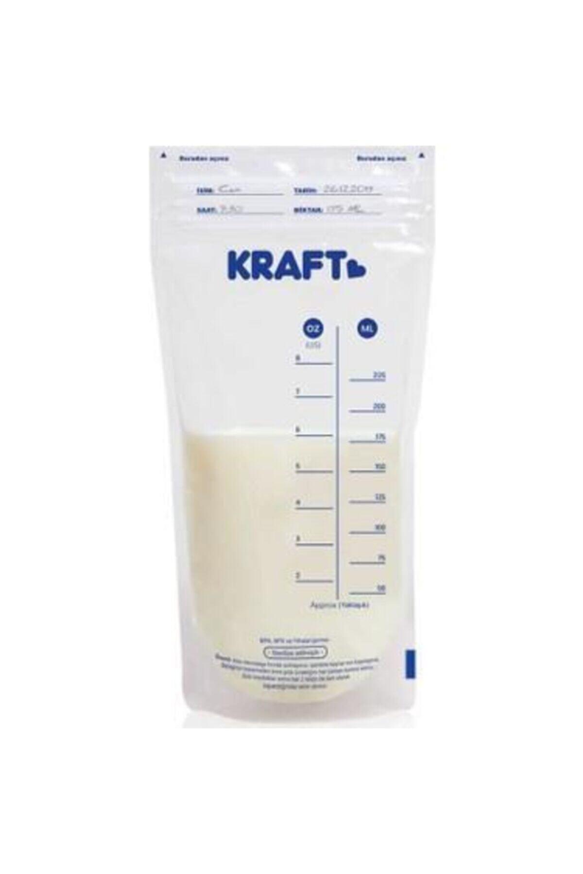 Kraft Süt Saklama Poşeti 30'lu 1