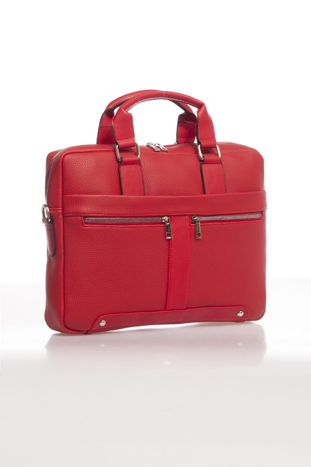 Sergio Giorgianni Luxury Mpist9141 Belinda Kırmızı Unısex Evrak Çantası 2
