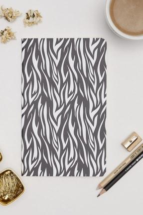 Yaris Note Zebra Desenli Not Defteri