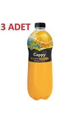 Cappy Pulpy Portakallı Içecek 1 Lt X 3 Adet