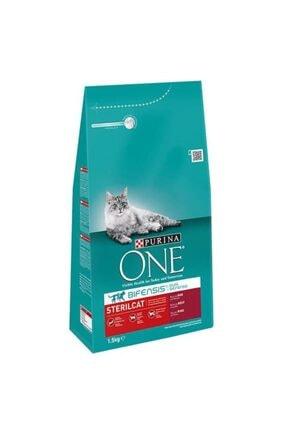 Purina One Sterilised Sığır Etli Kısırlaştırılmış Kedi Maması 1.5 Kg