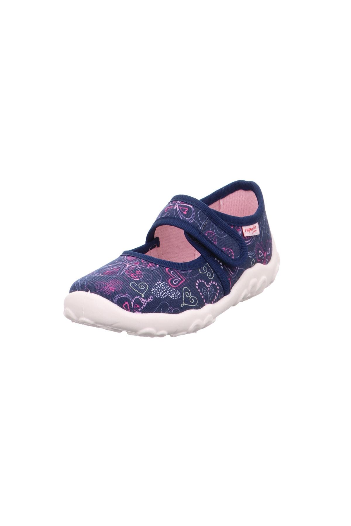 Superfit Çocuk Panduf Kreş Ayakkabısı Kalpli 1