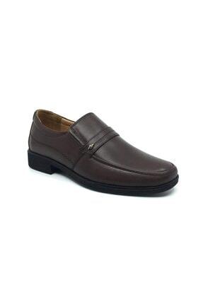Taşpınar Erkek Kahverengi Hakiki Deri Ortopedik Günlük Klasik Ayakkabı