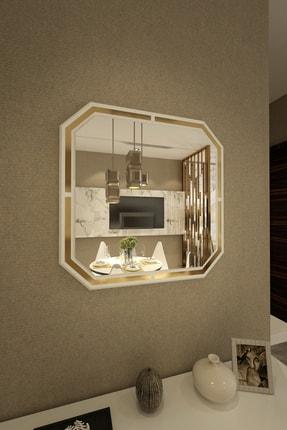 İkizlerçeyiz Kelebek Dekoratif Konsol Aynası Beyaz 70cm