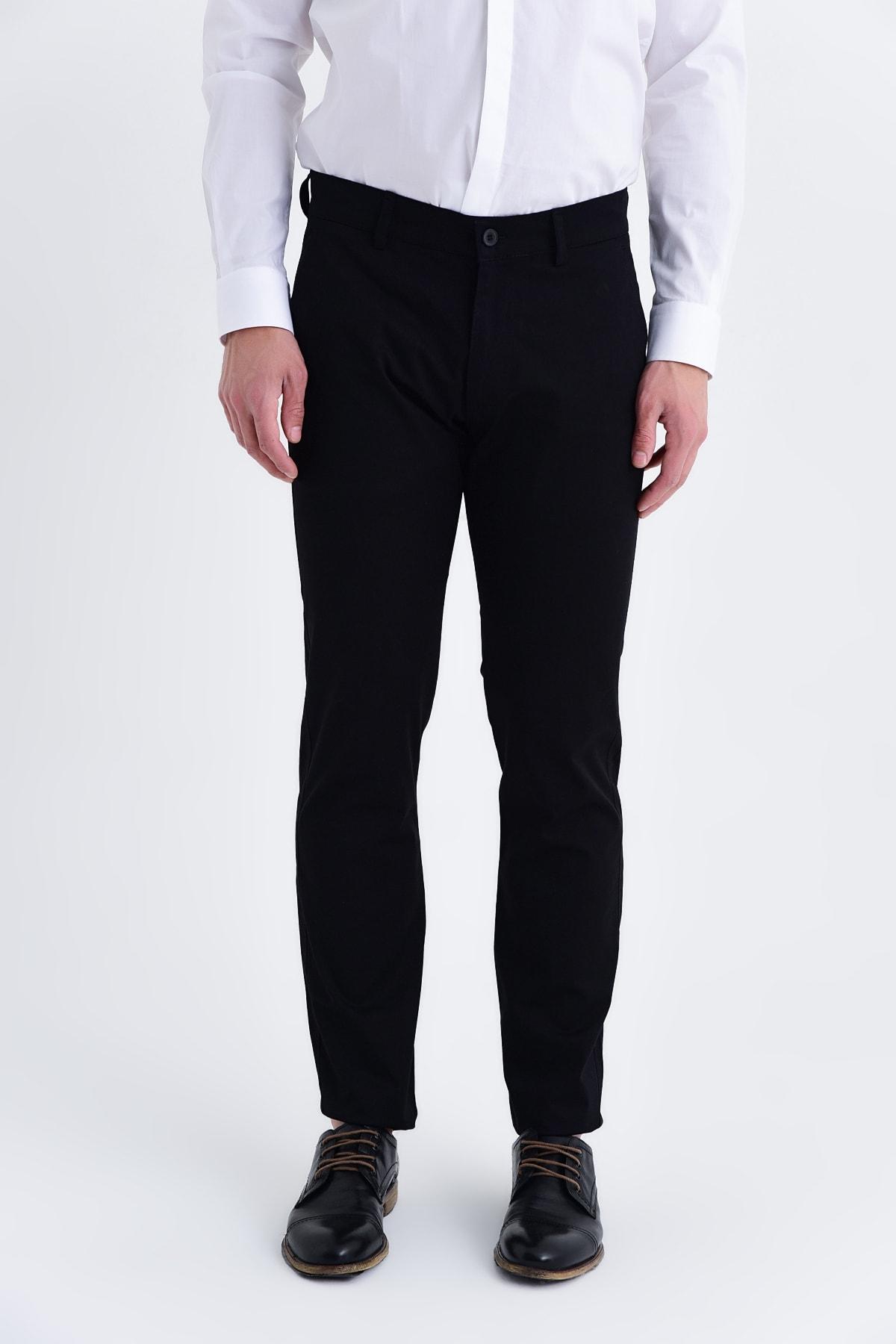 Hatemoğlu Regular Siyah Pantolon 29261019B003 1