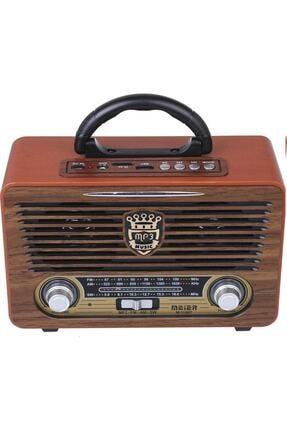 Meier Eskitme Nostalji Tasarımlı Bluetoothlu Nostalji Radyo 115bt