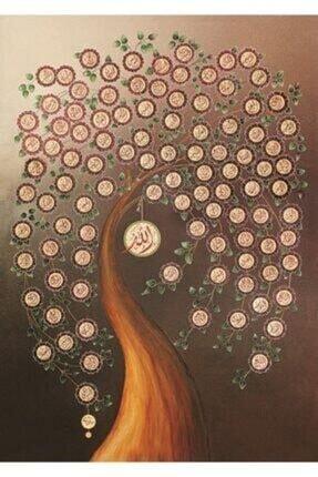 Art Puzzle Allah'ın 99 Ismi (Esma-ül Hüsna) 1000 Parça Puzzle