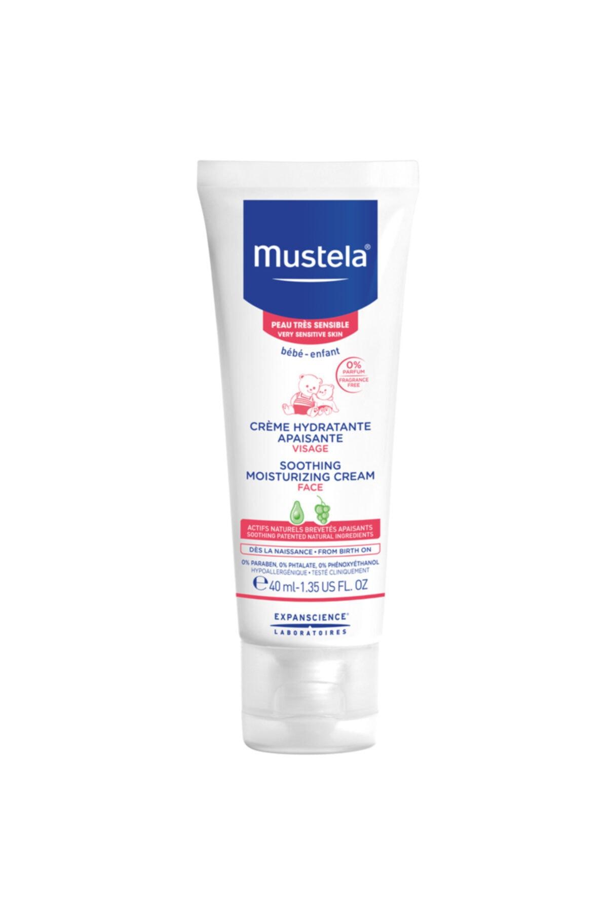 Mustela Soothing Moisturizing Cream 40 Ml 1