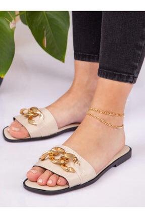 ayakkabıhavuzu Kadın Bej Terlik