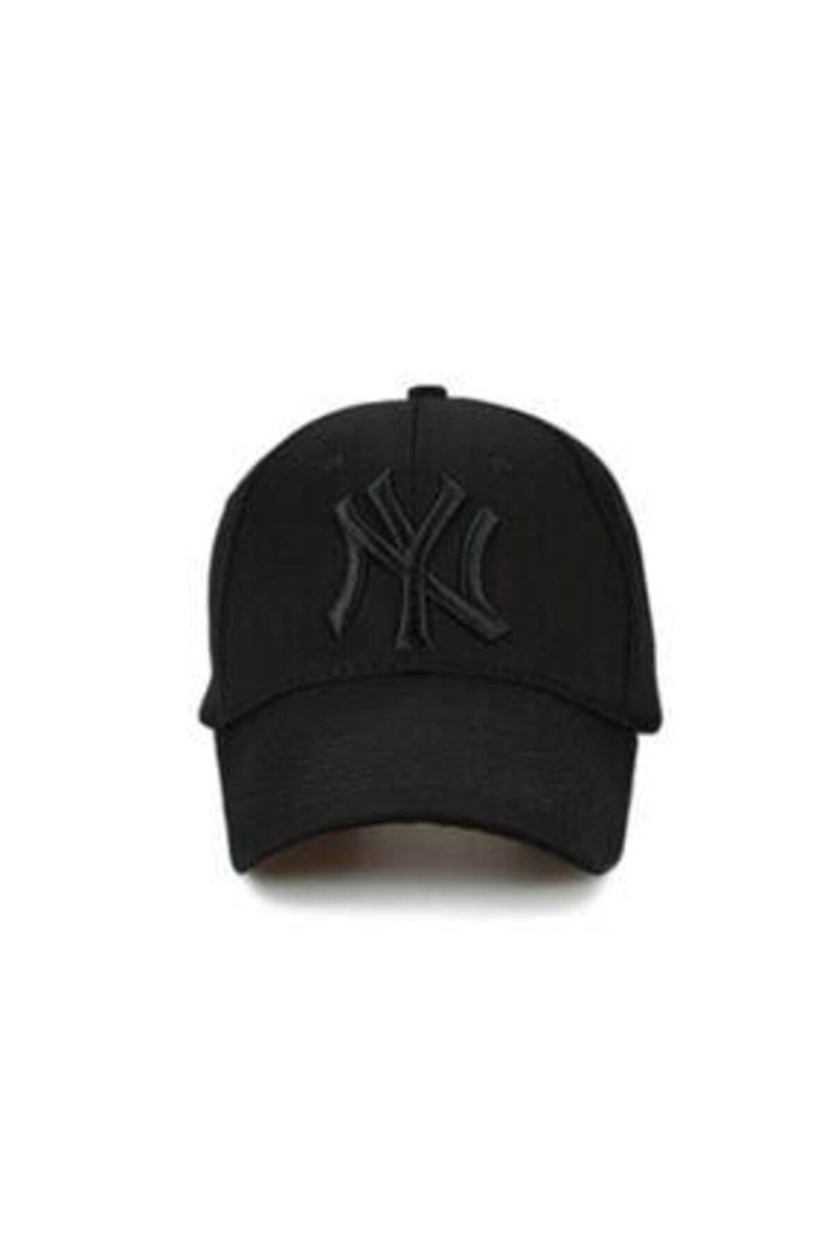 KOGLU Unisex Siyah Ny Şapka 2
