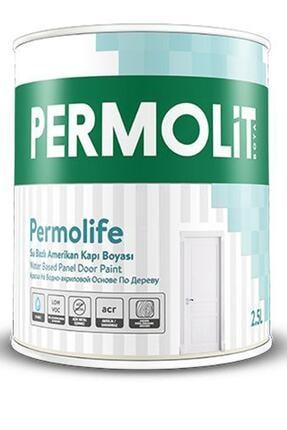 Permolit Permolife Su Bazlı Amerikan Panel Kapı Boyası 0,75 Lt Beyaz