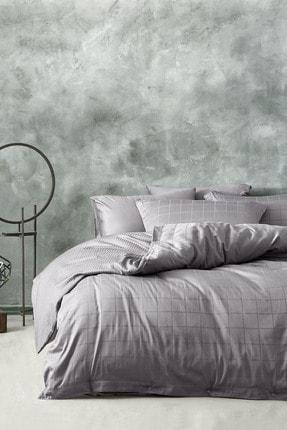 Yataş Bedding Destra Nevresim Takımı Tek Kişilik - Füme