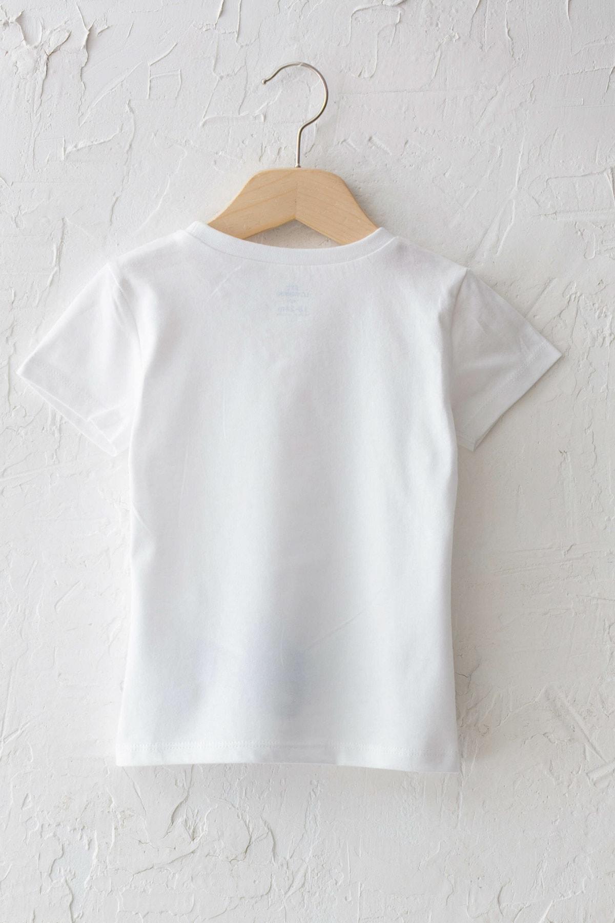 LC Waikiki Erkek Bebek Optik Beyaz E5X T-Shirt 2