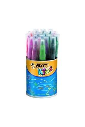 Bic Visaquarelle Fırça Uçlu Keçeli Kalem 18li
