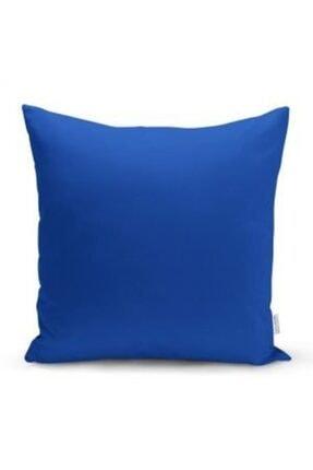 Foca Yorgan Ev Tekstil Çift Taraflı Kırlent Kılıfı Mavi 43x43