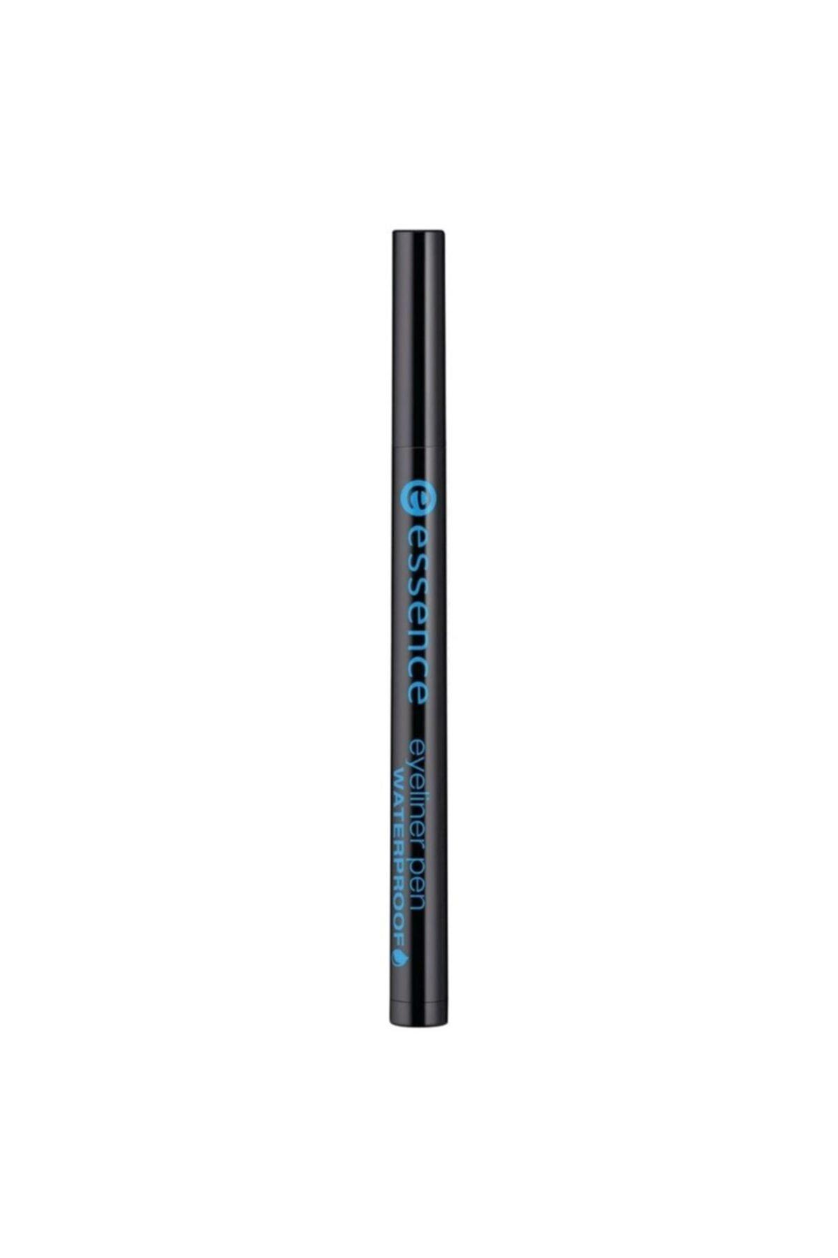Essence Eyeliner Pen Waterproof Suya Dayanıklı Kalem Eyeliner No 01 1