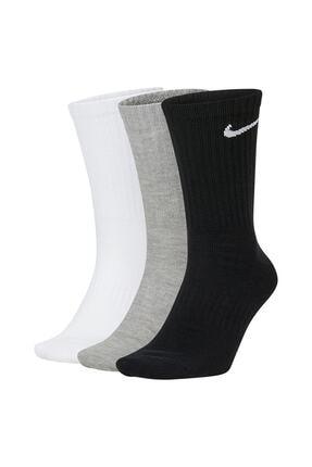 Nike Sx7676-901 Everyday Cush No-show 3 Renk 3lü Çorap Seti